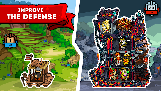 Towerlands – strategy of tower defense 1.10 MOD APK (UNLIMITED COINS) 3