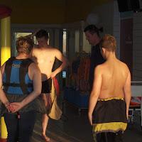 Zwembadtraining 2007-2008