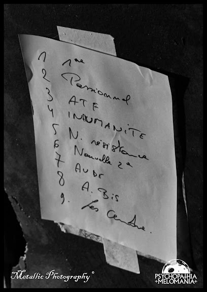 Set-list Infected @Metal Corporation Fest 2015 - METAL, MCP Apache, Fontaine-L'Évêque, Belgique 29/08/2015