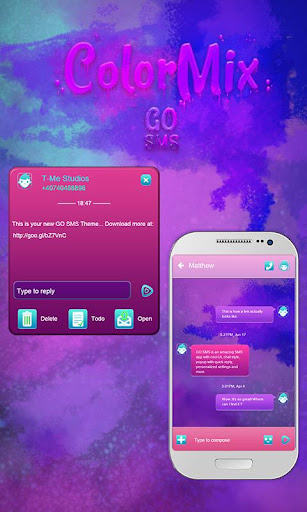 ColorMix GO SMS