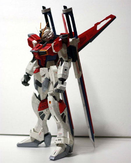 Sword Impulse Gundam Papercraft