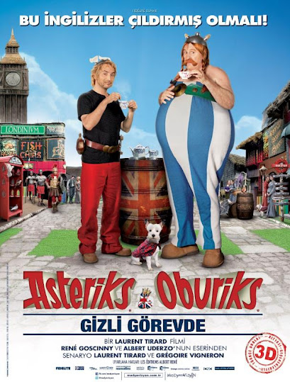 Asteriks ve Oburiks Gizli Görevde