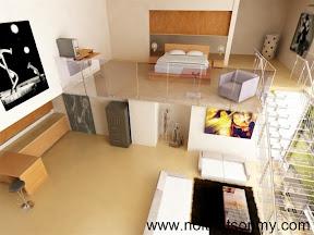 Mẫu thiết kế nội thất phòng khách 314