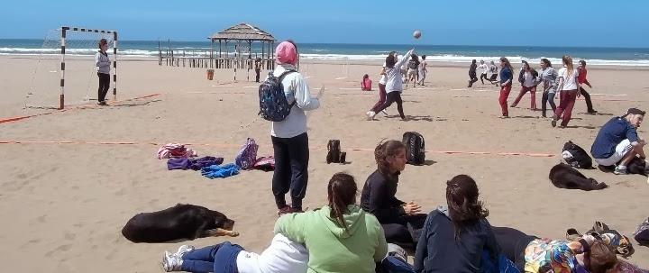 juguemos en la arena Necochea