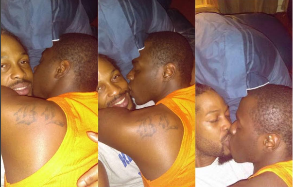 Guy Posts Pictures Of Himself And Boyfriend In Bed Kissing On Facebook (Photos)