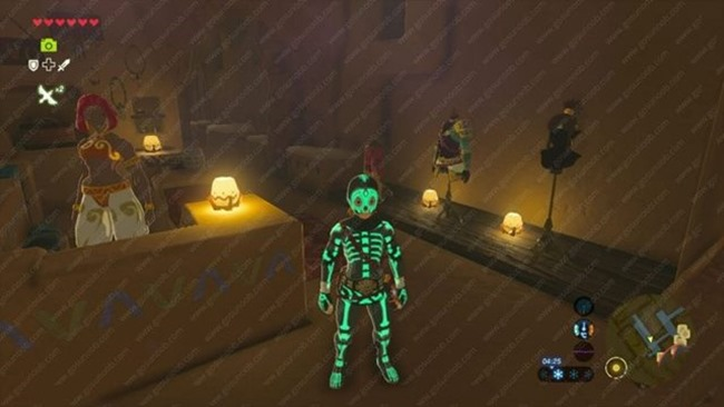 Zelda: Breath of the Wild ? Secret Club Secret Quest (So kommen Sie zum Gerudo Passwort)