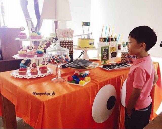 He Also The Biggest Fan Of Pacman So Here We Are Trying To Decorate And Give Him Best Theme Dessert Table For His 5th Birthday