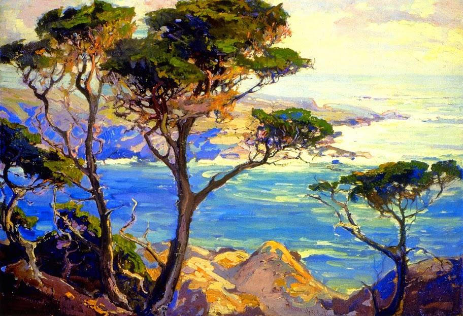 Franz Bischoff - A Lonely Headland, Point Lobos