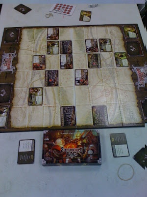 Summoner Wars game during play
