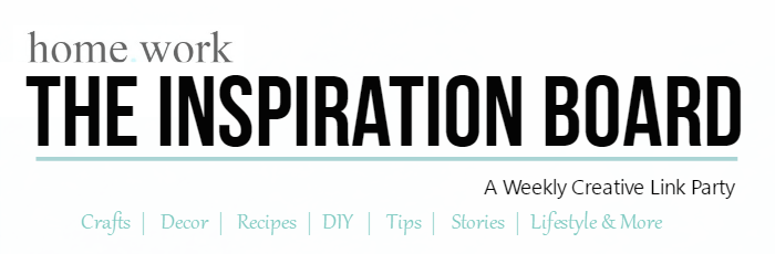 Homework The Inspiration Board Banner Cropped
