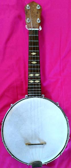 Steve Helme Banjolele Banjo Ukulele