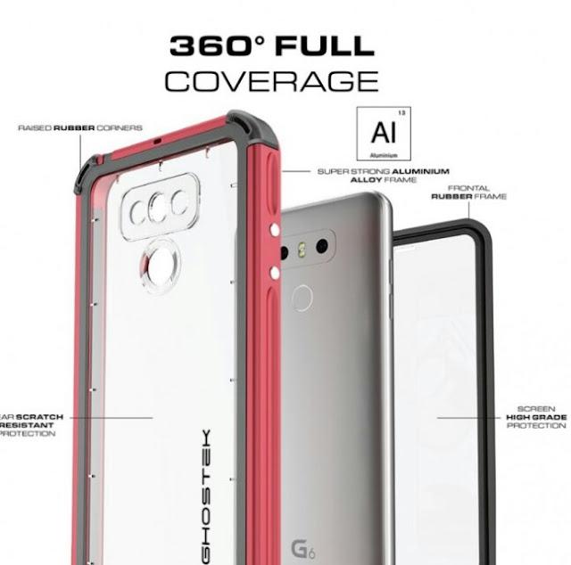 Leaks : Ghostek Allegedly Releases Leaks Of The Upcoming LG G6 3