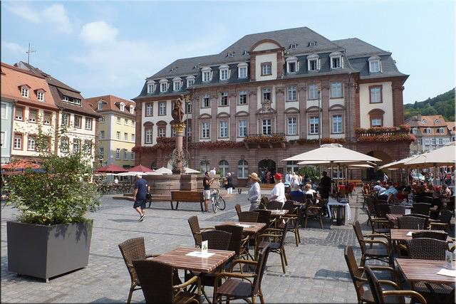 Plaza del Mercado - Heidelberg