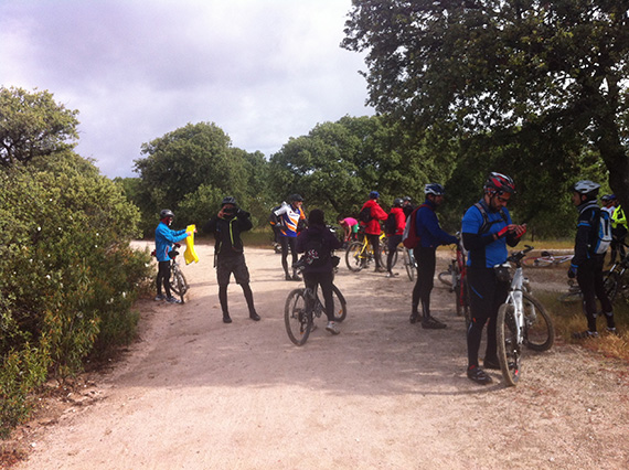 Unas fotos de nuestra ruta por el Pardo - Mayo 2013