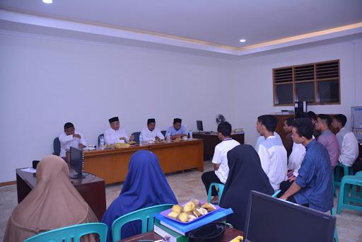 rapat guru bersama pimpinan pondok pesantren darunnajah 1 Ust. sofwan manaf