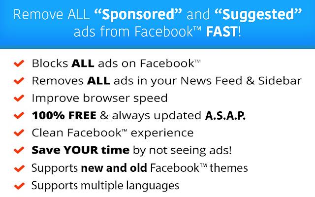 AdStop - Social Media Adblocker