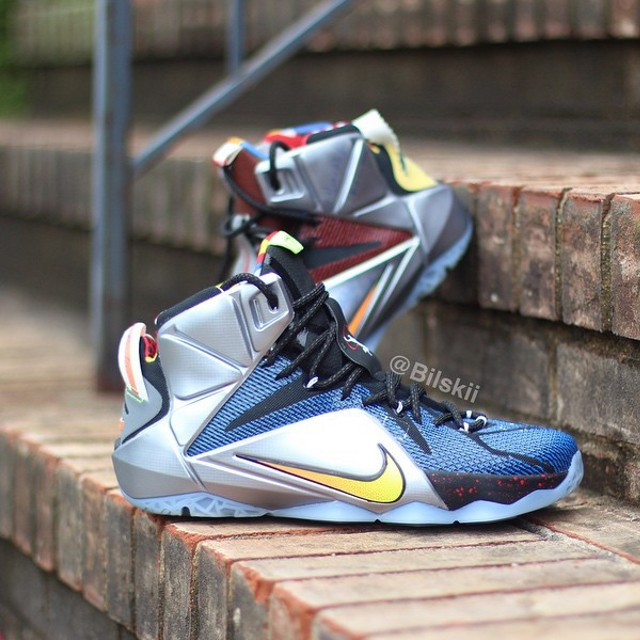 new style 6984a 435e7 ... A Slightly Better Look at What The Nike LeBron 12 ...