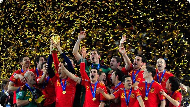 A 4 días del inicio del Mundial Rusia 2018: España gana un torneo que enorgullece a África en el año 2010.