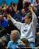 DePaul fans (NCAA Women's Basketball: DePaul 56 vs. Notre Dame 84, McGrath-Phillips Arena, Chicago, IL, February 25, 2013)