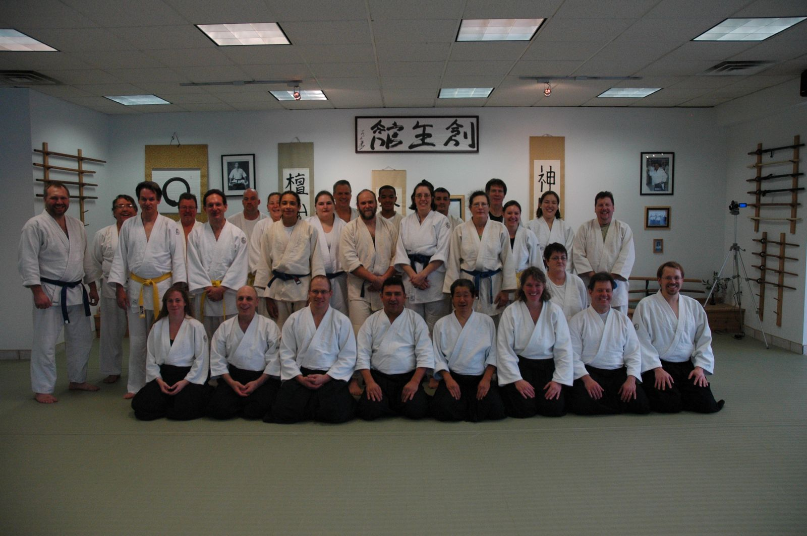 Tajiri Sensei at Soseikan Dojo - Aikido Seminar - Saturday