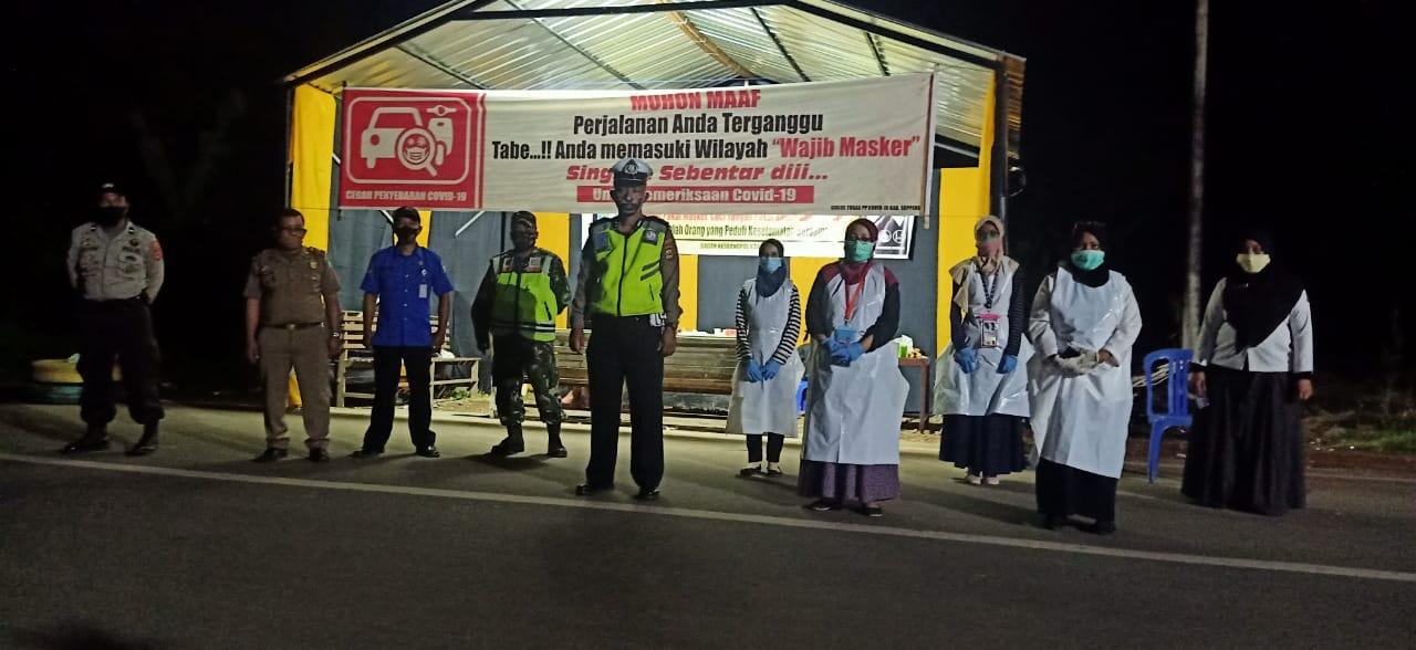 Antisipasi Covid, Polres Soppeng terjunkan Satuan Lalu Lintas Pengamanan Wilayah Perbatasan