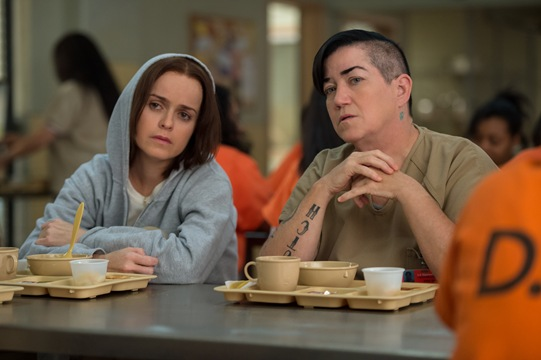 Taryn Manning and star in OITNB season 4