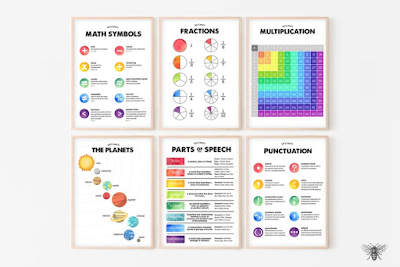 math printables for home or school