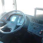 Het dashboard van de Mercedes Citaro van Connexxion bus 9111
