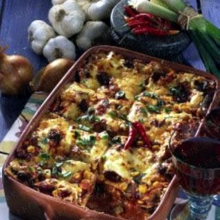 Gemüse-Lasagne mexicana