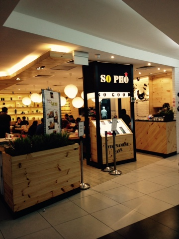 Food, Travel and Life: So Pho, Tampines Mall