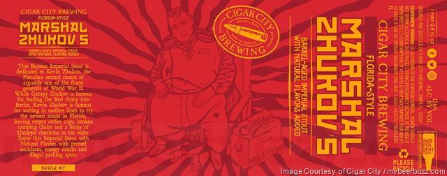 Cigar City Adding Florida-Style Marshal Zhukov's