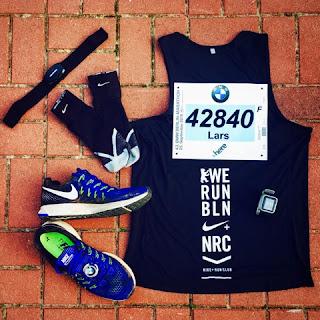 Outfit Laufschuhe BMW Berlin-Marathon