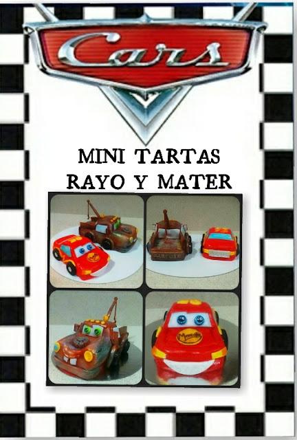 tarta cars, tarta cars 3D , rayo mcqueen y mate , mate cake