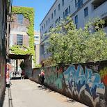 graffiti alleyway in downtown Toronto in Toronto, Ontario, Canada