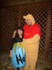 Winnie The Pooh and his Honey