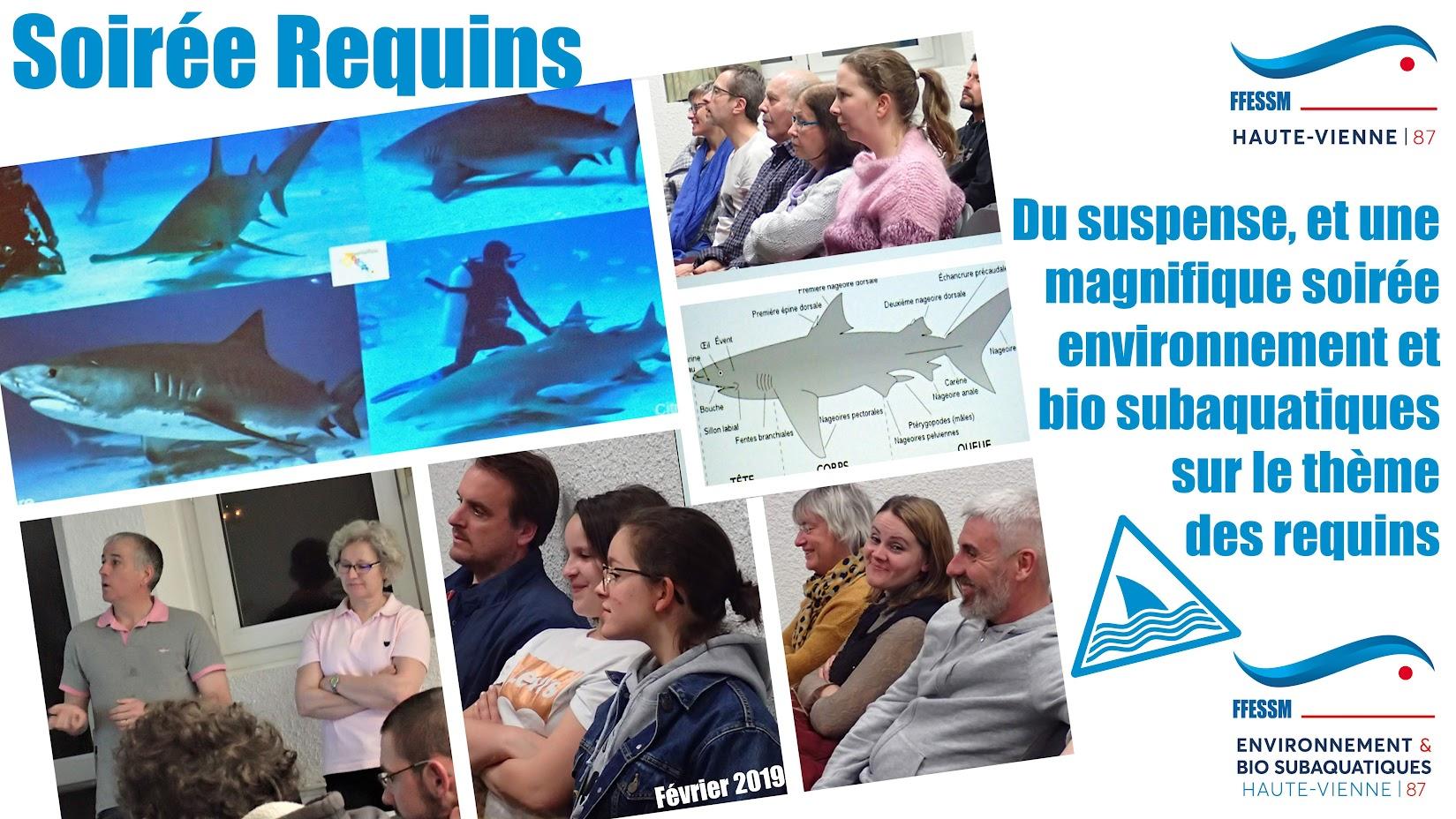 FFESSM - CODEP87 - Bio - soirée requins