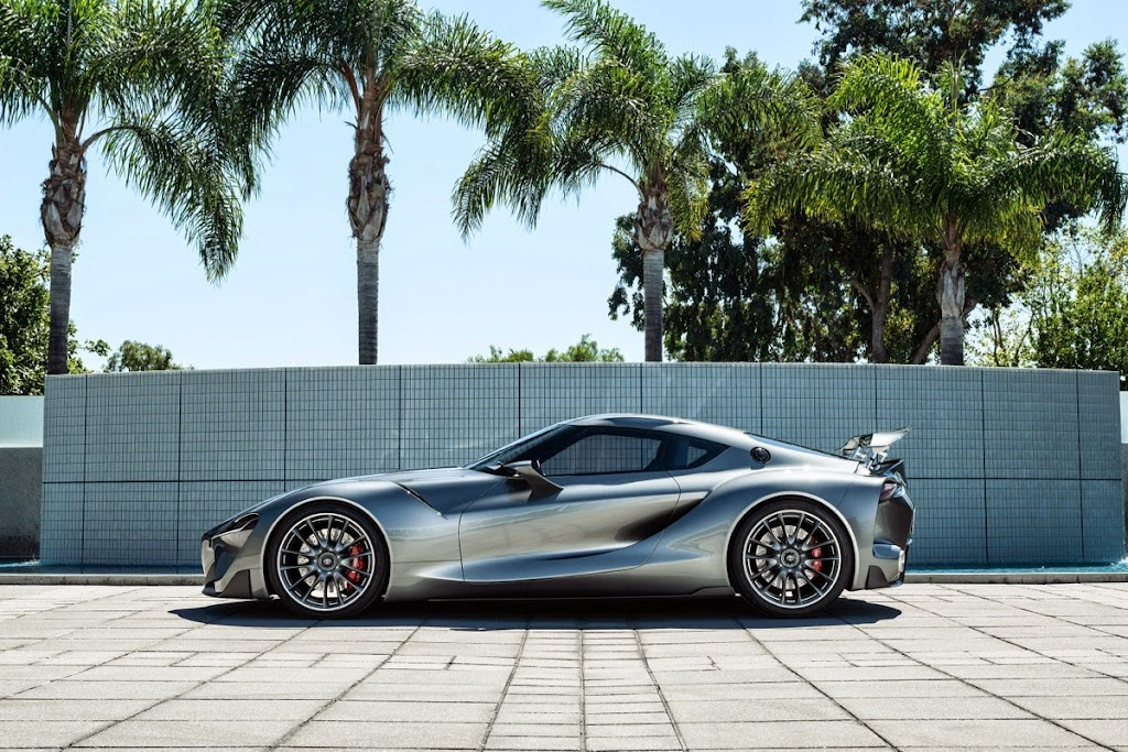 Toyota FT1 Concept New Supra Pebble Beach Monterey002