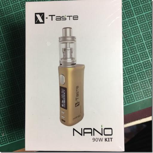 IMG 1434%255B1%255D thumb%255B3%255D - 【スターター】「X-Taste NANO 90W KIT(エックステイストナノ90ワット)」レビュー。スターターも日に日に進化している!【電子タバコ/スターターキット】