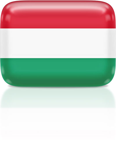 Hungarian flag clipart rectangular