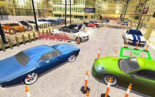 Unique Parking Game: Real Car Driving screenshot 2