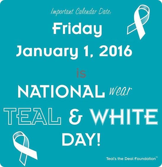 teal day 2016