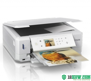 How to reset flashing lights for Epson XP-625 printer