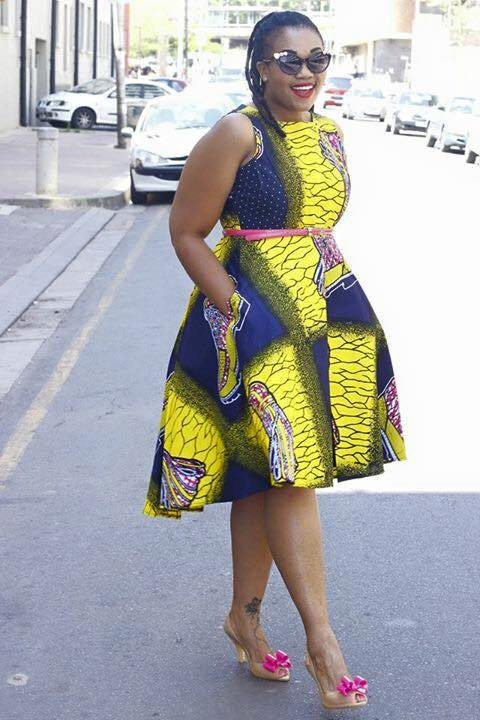 designer kitenge for plus size 2018