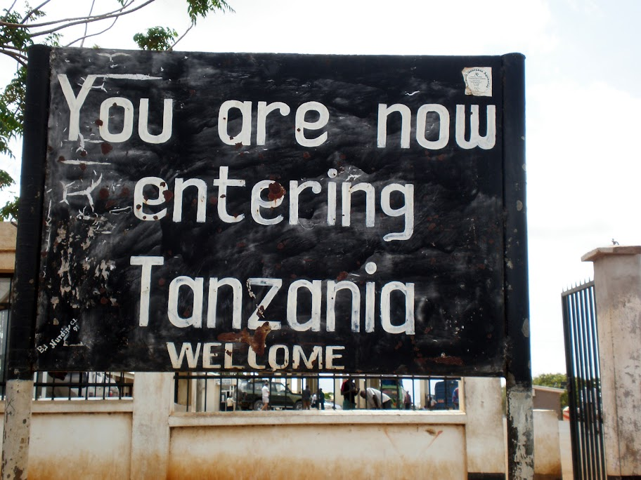 Kenya/Tanzania border crossing