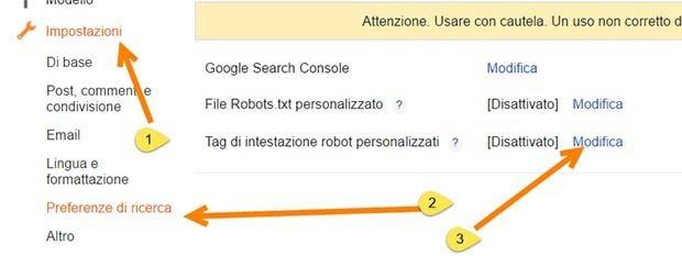 abilitare-robots-personalizzate