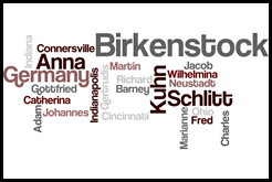Family of Anna Catherina Birkenstock and Martin Kuhn
