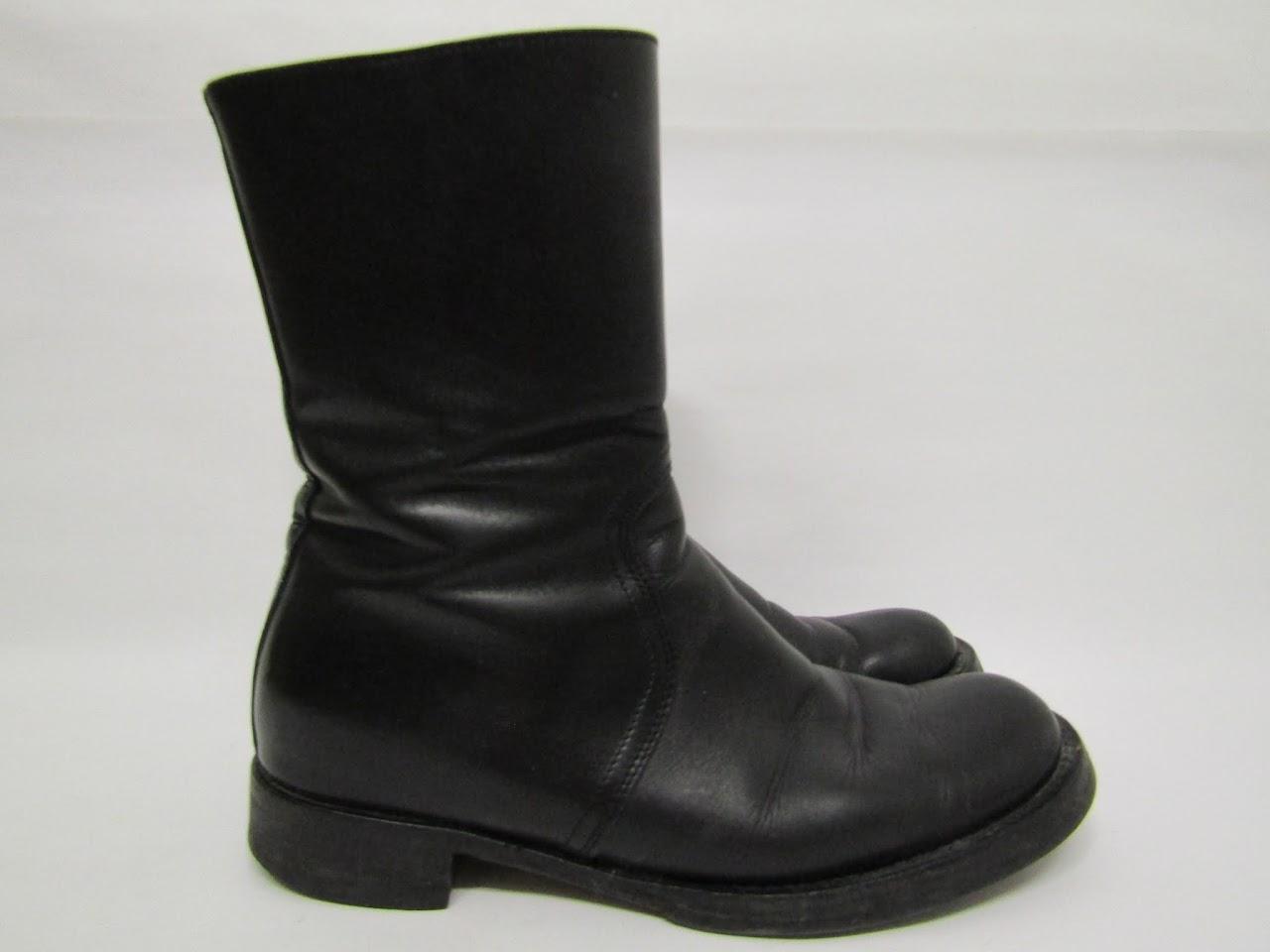 Miu Miu Zip-Up Boots