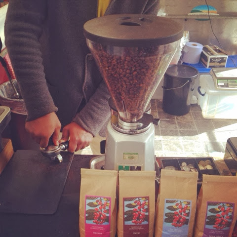 The Ethiopian Coffee Company at Real Food Market Southbank