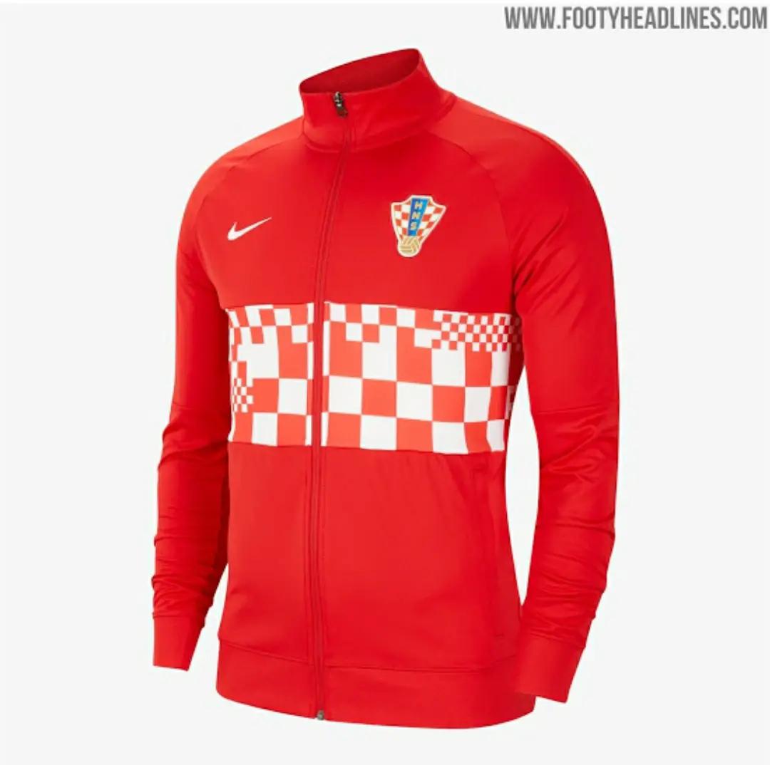 ini adalah gambar foto jaket anthem timnas kroasia euro 2020-2021