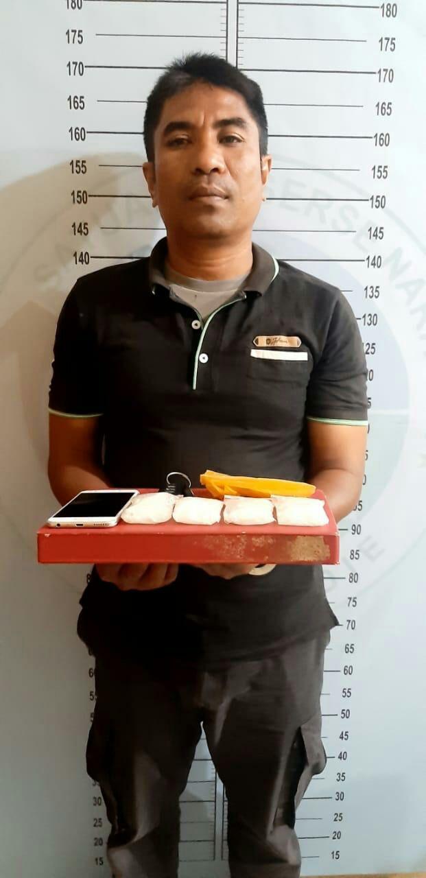 Personil Polres Pidie ditangkap Tim Gabungan Satresnarkoba dan Sipropam